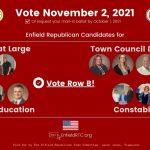 Blog featured image - 2021 Enfield municipal candidates